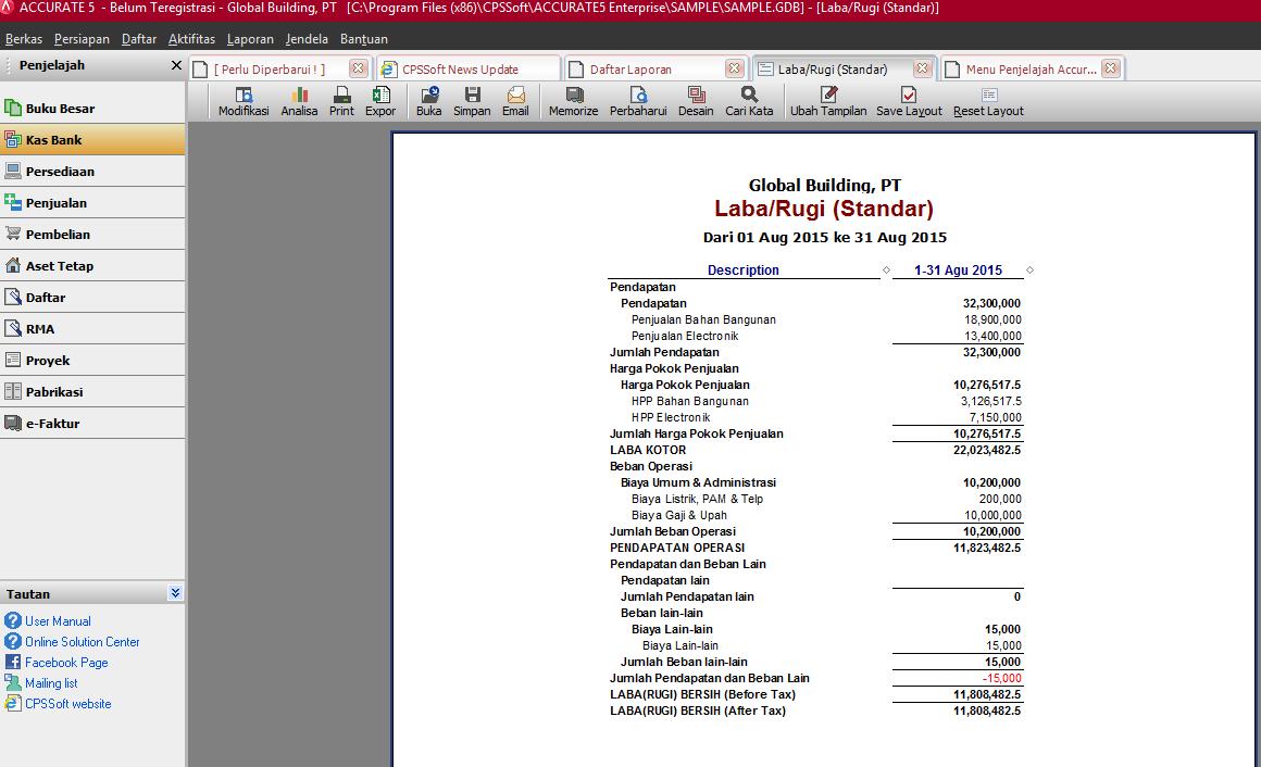 Accurate Accounting Software Report Acisindonesia Com