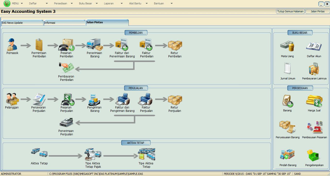 Software Akuntansi Perusahaan Jasa