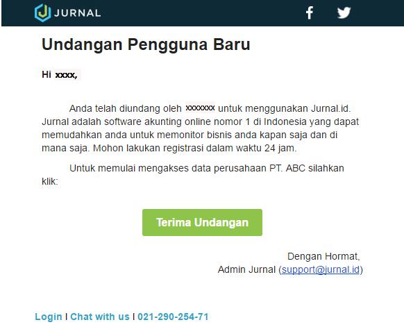 Set Up Pengguna di Software Akuntansi Online Jurnal 4