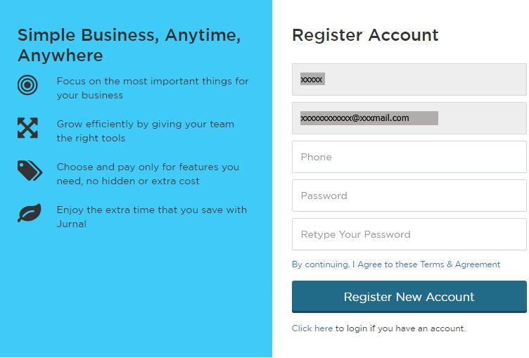 Set Up Pengguna di Software Akuntansi Online Jurnal 5