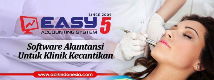 Software Akuntansi Untuk Klinik Kecantikan