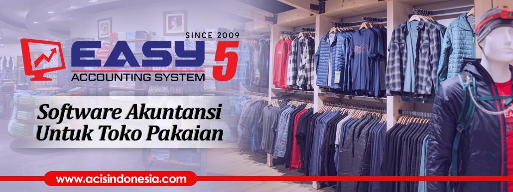 Software Akuntansi Untuk Toko Pakaian